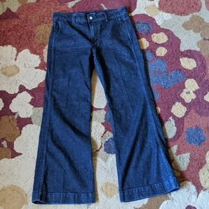 J.Crew Flare Leg Dark Wash Jeans